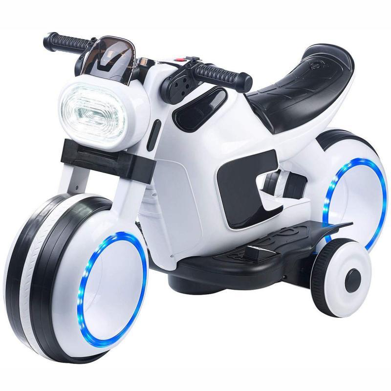 Elektro Kindermotorrad - futuristisches Kinder Motorrad LED Licht