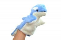 Handpuppe – Süße Handspielpuppe Delfin Flipper