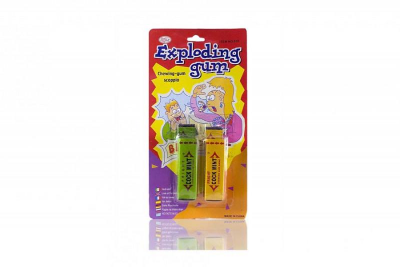 Explodierender Kaugummi Exploding Chewing Gum