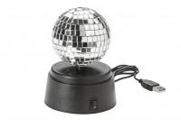 USB Spiegelkugel » drehende Discokugel » günstig kaufen!