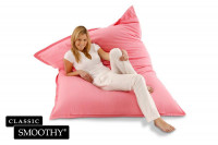 Smoothy Sitzsack Classic Cotton in Flamingo-Pink