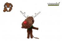 Voodoo Puppe - Voodoopuppe zum Sammeln - Rudolph Rentier