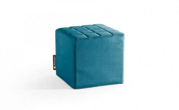 Smoothy Cube Lounge Sitzwürfel Petrol