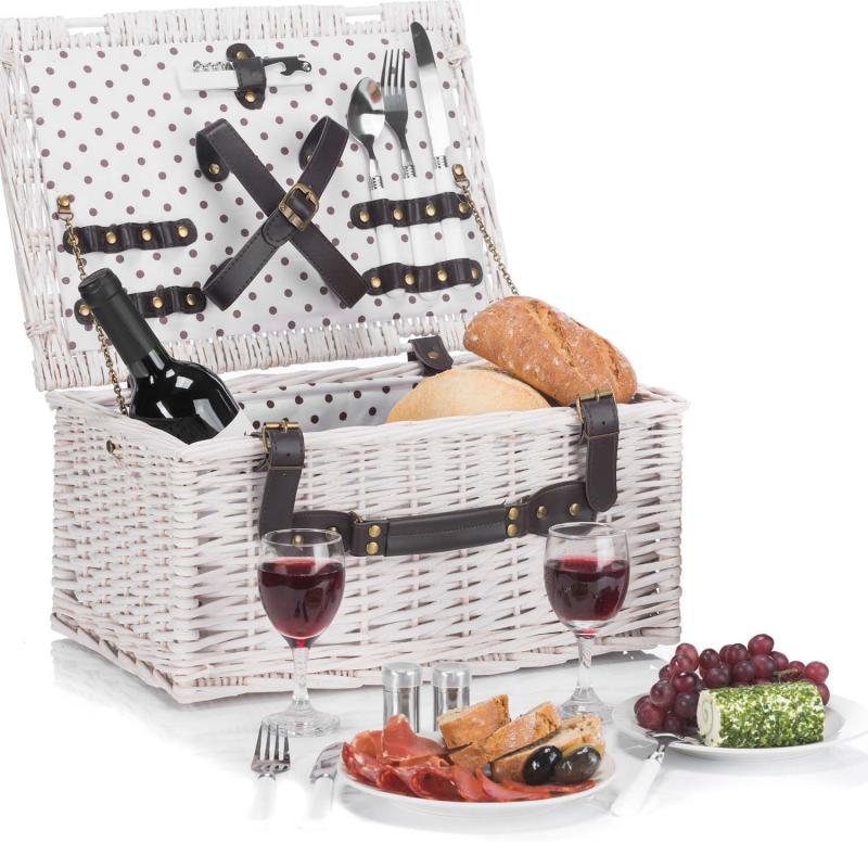 Romantischer Picknickkorb