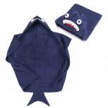 Kapuzenhandtuch - Baby Handtuch mit Kapuze - Haifisch