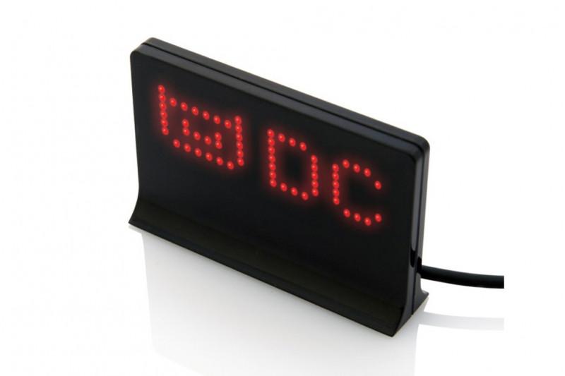 USB LED Anzeigetafel mit 21x7 LEDs