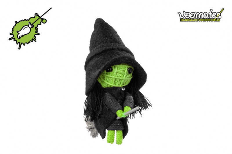 Voomates Wicked Witch Voodoopuppe
