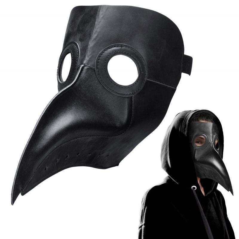 Pestdoktor Steampunk Maske aus Leder
