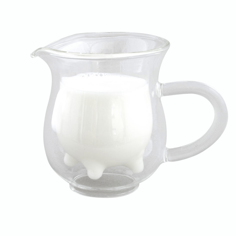 Sahne Milchkännchen mit Eutern Design