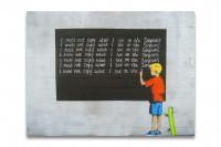 Banksy - Simpsons Kunstdruck auf Leinwand - XXL Bild Print