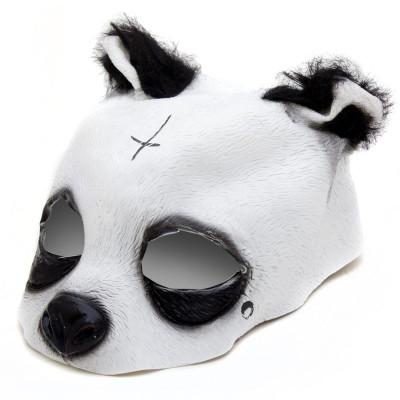 Panda Maske - Originalgetreue Pandamaske aus Latex