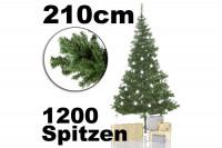 Künstlicher Weihnachtsbaum Tannenbaum 210 cm » günstig kaufen!