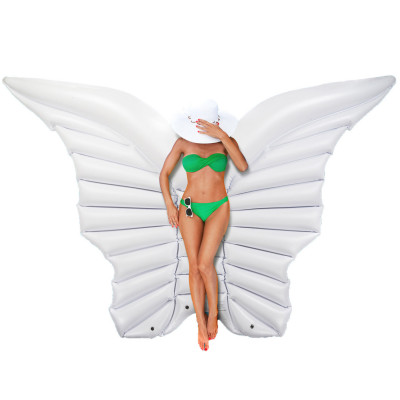 Engelsflügel Luftmatratze - Schmetterlingflügel aufblasbar 250cm