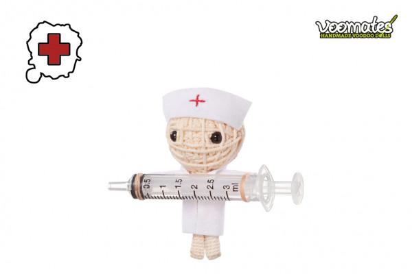Voodoo Puppe - Voodoopuppe zum Sammeln - Get Well Soon