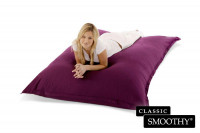 Smoothy Sitzsack Classic Cotton in Amethyst-Lila