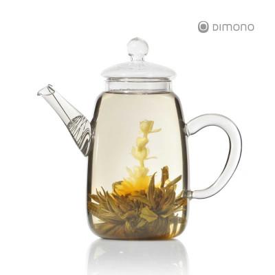 Teekanne Teepot aus Glas mit Teesieb 600ml