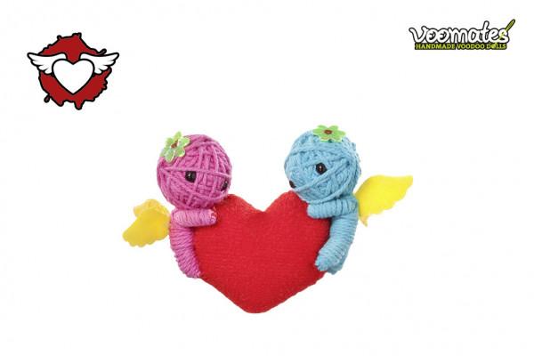 Voodoo Puppe Angels Heart für Verliebte Voomates Doll