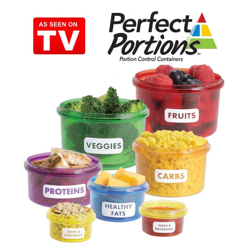 Perfect Portions Portionskontrolle Behälter für Lebensmittel