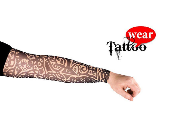 Tattoo Ärmel Tattoo Skin Sleeves01 Floral Tribal