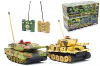 RC Panzer Set: 2x Panzer mit Infrarot Kampfsystem