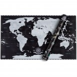 Scrape off World Map Deluxe - Luxus Limited Edition!