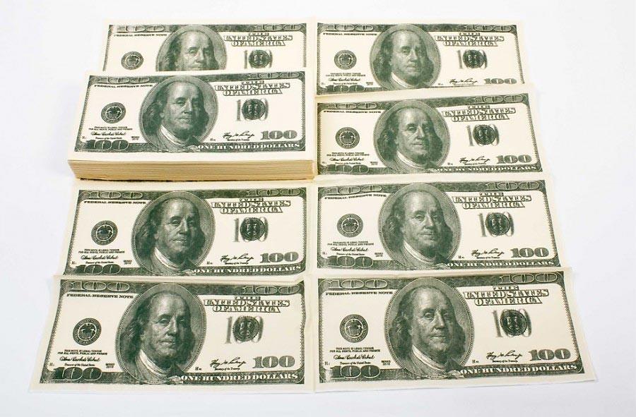us dollar schein servietten shop 24h g nstig kaufen