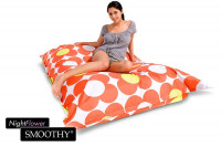 Smoothy Sitzsack Nightflower in Orange-Gelb