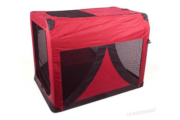 Transportbox für Hunde & Katzen - Hundebox mit vielen Features - Gr. L