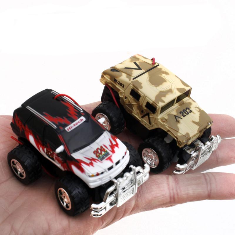 Mini RC Car Monster Truck Micro R/C Hummer