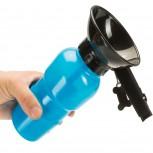 Hunde Wasserflasche fürs Auto - Mobiler Wassernapf Reiseflasche
