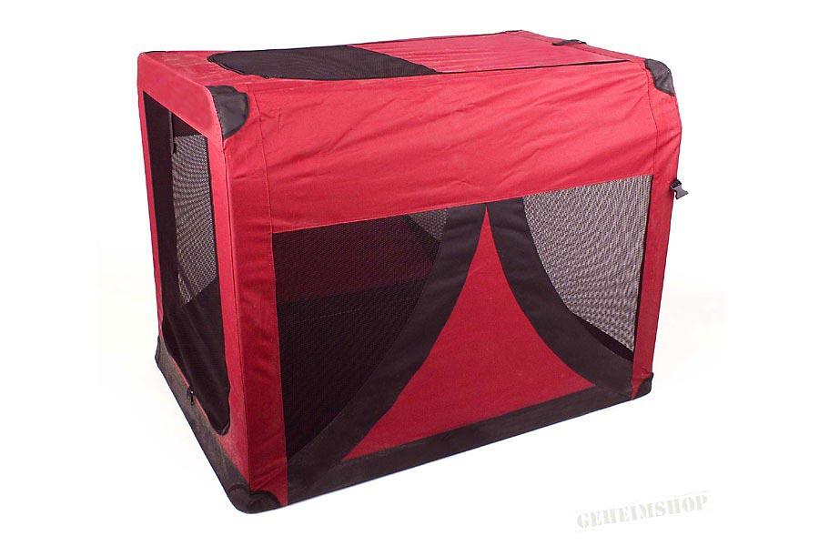 faltbare hundebox transportbox f r hunde gr m. Black Bedroom Furniture Sets. Home Design Ideas