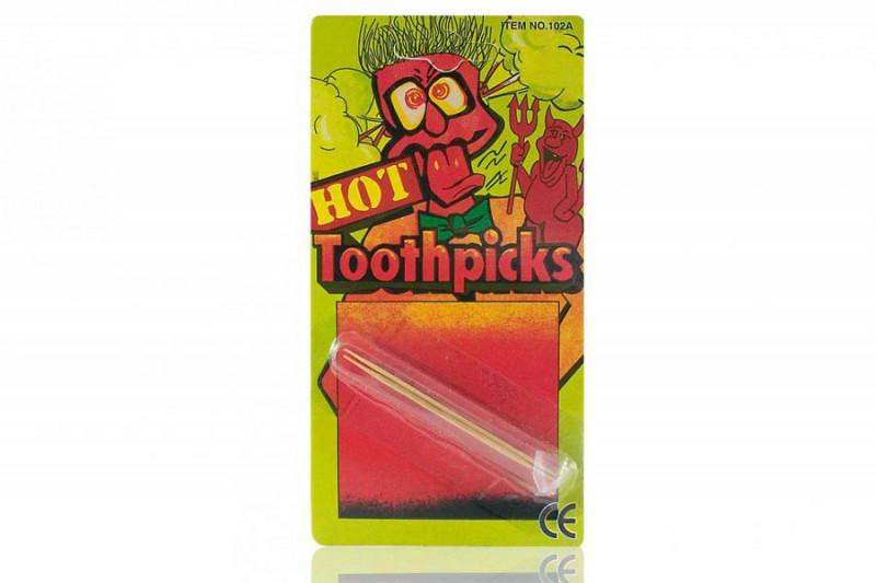 Scharfe Zahnstocher Scherzartikel Hot Toothpicks
