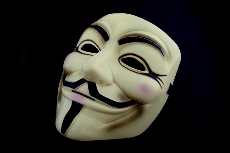V wie Vendetta Maske Occupy Bewegung