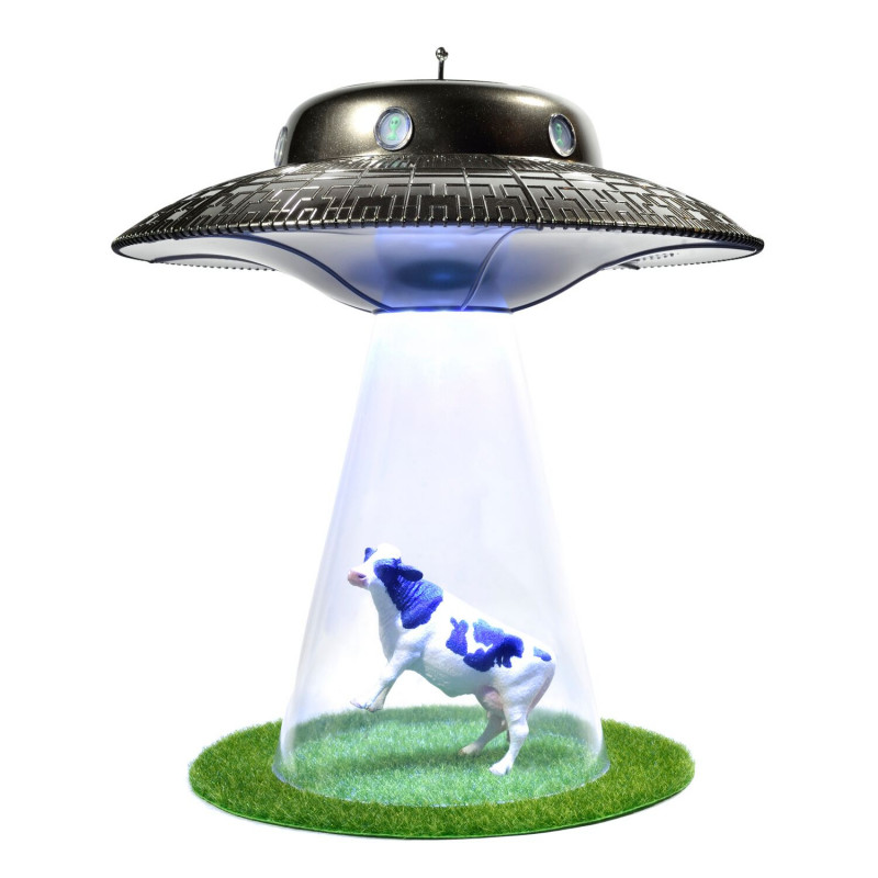 Ufo Alien Abduction Lamp