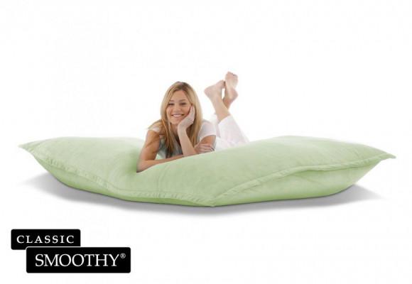Smoothy Sitzsack Cotton Samt in Grün