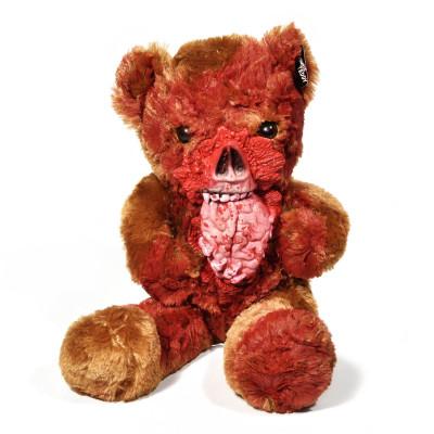 Zombie Teddybär - Fashion Teddy Bear hat Hirn zum Fressen gern