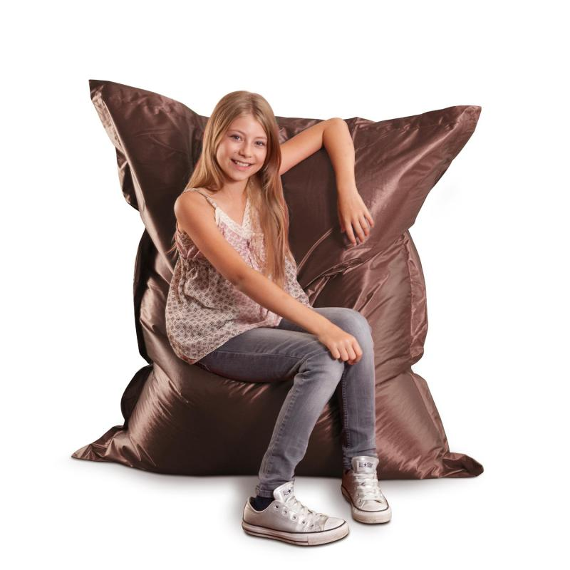 Sitzsack Junior Metallic Braun