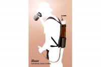 Bierrucksack – Party Getränke-Rucksack mit Zapfschlauch