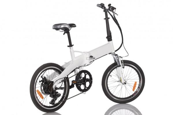 Elektrofahrrad - City e-Bike Klapprad mit Elektromotor