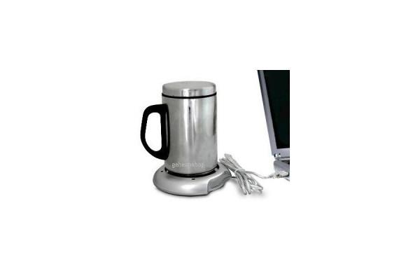 USB Tassenwärmer fürs Büro – hält Kaffee und Tee dauerhaft warm