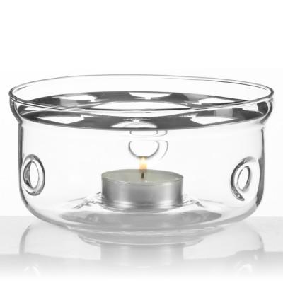 Stövchen aus Glas - Teewärmer passend für fast alle Teekannen