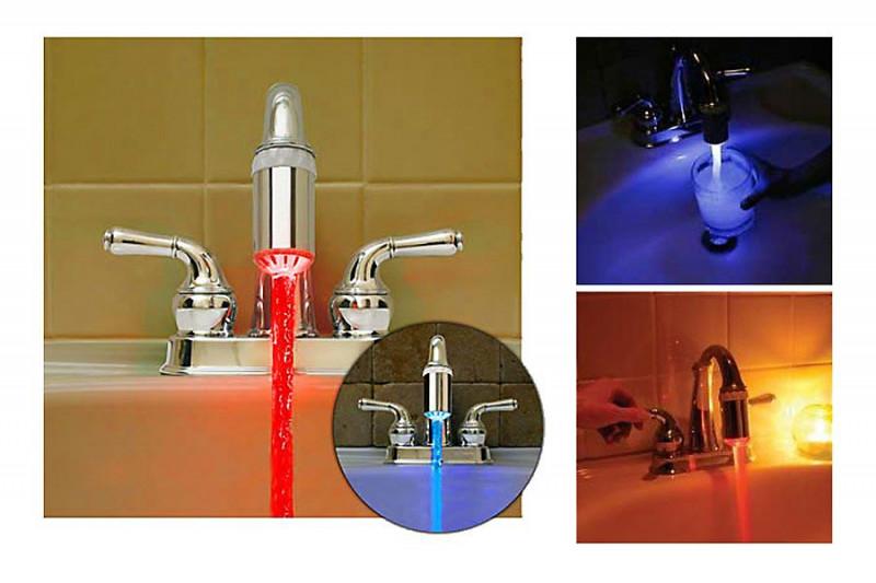 Wasserhahn Aufsatz LED
