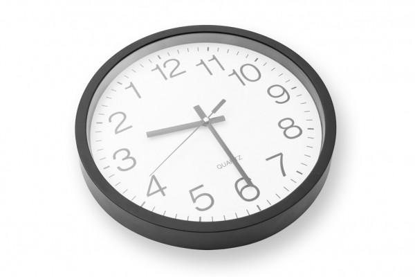 Rückwärtsuhr Rückwärts laufende Uhr für die Wand