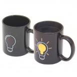 Thermo Tasse - Kaffeetasse mit Glühbirne - Geheimshop.de