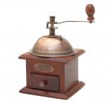 Retro Kaffeemühle - Kaffee-Mühle antik aus Holz - Geheimshop.de