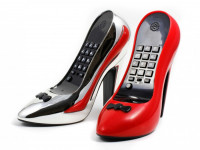 High Heel Telefon: Stöckelschuh Pumps Design