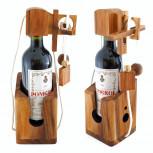 Flaschenpuzzle - Holz Flaschen Puzzle | Geheimshop.de