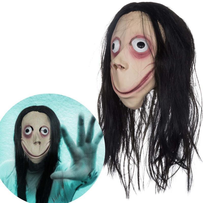 Momo Maske Perücke