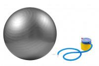 Gymnastikball 65cm mit Pumpe » Sitzball silber » günstig kaufen