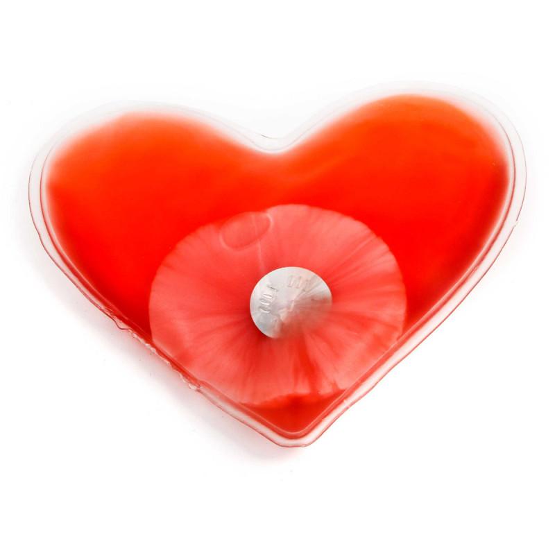 Herz Handwärmer Taschenwärmer Wärmekissen in Herzform